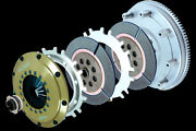 Orc 559 Series Twin Plate Clutch Kit For Evo 4 Cn9a 4g63orc-p559d-mb0101