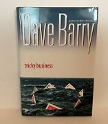 1st Edition 1st Printing Signed By Author - Tricky Business By Dave Barry