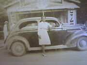 Antique African American Coca Cola Store Sign Pause Ww2 Era Lady Bottle Photo