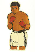 1970's Muhammad Ali 22 Felt Boxing Pennant, Ex+ With Great Color