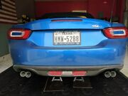 Roadster Sport Complete Exhaust System With Quad Tips For The And03917+ Fiat 124