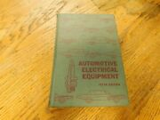 1960's Automotive Electrical Equipment Wiring Electronics Shop Service Manual