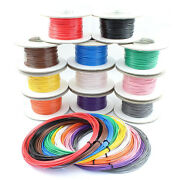 Single Core Stranded Cable 12v 24v Thin Wall Wire All Amp Ratings And 11 Colours