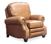 Barcalounger Longhorn Ii Chaps Saddle Genuine Top Grain Leather Recliner Chair
