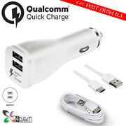 Genuine Original Samsung Galaxy Tab S3 9.7 Fast Charge Car Charger+type-c Cable