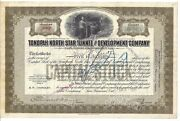 Tonopah North Star Tunnel And Development Company.....1914 Stock Certificate