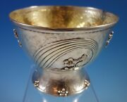 And Co. Sterling Silver Trophy Bowl Acid Etched Circa 1895 1677