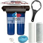 Ro Reverse Osmosis Water Filter 200 Gpd, Clean Water, Hydroponic And Aquarium