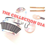 Air Filter With Adapter And Choke Kit For 2-stroke 47cc And 49cc Pocket Bike