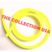 Racing Yellow Fuel Line Gas Hose 3/16and039and039 Id For Motorcycle Atv Mini Bike Go Kart
