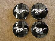 Oem Ford 2015 Mustang Wheel Center Caps Gt Emblems Ornaments New T-off 2016 Nos