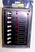 Aa10082lt8 8 Breaker/switch Panel With Led Lights 8 Gang 135-1214