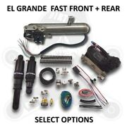 Dirtyworks Dirty Air El Grande Front And Rear Complete Fast-up Tank Kit For Ha