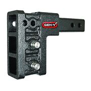 Gen-y Hitch Gh-329 Drop Hitch With Vera Ball Mount And Pintle Lock For 2 Receiver