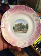 Cathedral High School Crookston Minn Cowley Holmbos Mn Real Photo China Plate