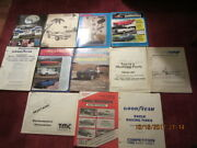 Lot Of Vintage Car Parts Catalogs - Mustang, Good Year Tires