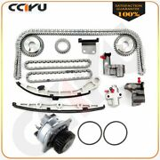 Water Pump And Timing Chain Kit 03-06 For Nissan 350z 3.5l Dohc Vq35de Eng