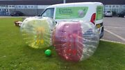 Bubble Football. Start Up Business Genuine 100 Tpu 1.5mtr. Inflatable. Zorb