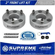 2 Front Lift Kit For 2006-2020 Dodge Ram 1500 4wd Performance Pro Silver