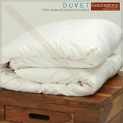 Luxury Hotel Quality Hungarian Goose Down Duvet All Season Fillings Togs And Size