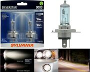 Sylvania Silverstar 9003 Hb2 H4 60/55w Two Bulbs Head Light Replace Motorcycle