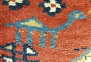 Pre-1900s Antique Wool Pile 3and0394andtimes12and039 Vgy Dyes High-karabahk Armenian Runner Rug