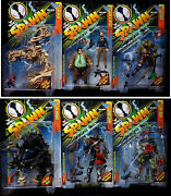 Spawn Series 7 Set Of 6 Act Figs New 1997 1st Zombie Spawn Mcfarlane Amricons
