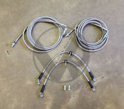 Complete Stainless Rear Brake Line Replacement Kit For 99-03 Acura Tl