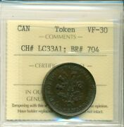 Can Iccs Token Vf-30 Ch Lc33a1 Br 704 Xyg 496
