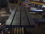 35.25 X 16 X 2.75 Cast Iron T Slotted Steel Table Weld Welding Layout 3 Slot