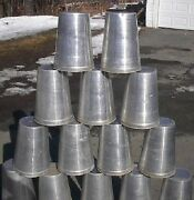 Ready To Use 20 Maple Syrup Sap Buckets +square Lids Covers + Taps Spouts Spiles