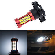 1x Error Free 6000k White 106-smd Py24w Led Bulbs For Front Turn Signal Lights