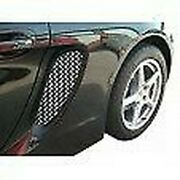 Zunsport Silver Complete Grille Set For Porsche Cayman S 981 Manual With Sensors