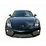 Zunsport Silver Complete Grille For Porsche Cayman S 981 Manual W/out Sensors