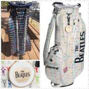 Rare Item Beatles World Limited Edition Admiral Golf Caddy Bag From Japan F/s