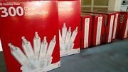 7 Boxes - 300 Clear Mini Lights - Large Lot Christmas Wedding Baby Shower