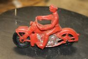 Vintage Motorcycle Toy,plastic,mexico,1970's