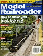 Model Railroader Magazine November 2007 Special Guide To Ho Knuckle Couplers