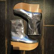 Vivienne Westwood Rockin And039horse Shoes Boots Silver Uk 6 From Japan F/s