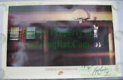 Nitf Nike Poster ☆ There Is No Finish Line ☆ Signed Tom Chambers Phoenix Suns