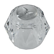 New Delta Faucet Rp2392 Single Clear Plastic Knob Handle Kit With Button
