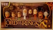 The Lord Of The Rings Collector's Series Pez Set Brand New Sealed 2011