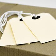 Manilla Or Brown Strung Tags Tie On Luggage Gifts Labels Wedding Craft Card