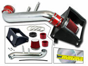 Bcp Red For 2015-2020 Ford F150 5.0l V8 Heat Shield Cold Air Intake Kit +filter