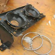 Nos 1973 Mercury Montego Front Headlight Mounting Bucket W Retainers Assembly Lh