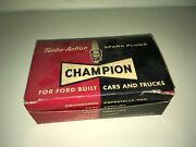 Turbo-action Champion Spark Plugs For Ford Built Cars And Trucks Lot Of 9