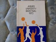 1972-73 Auburn Tigers Basketball Media Guide Yearbook 1973 Press Book College Ad