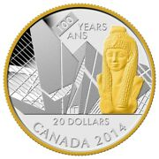 2014 20 Fine Silver Coin 100th Anniversary Of The Royal Ontario Museum Proof