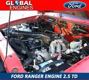 Ford Ranger Engine 2.5 Td 2000-2006 Engine Wlt Efi Supply And Fit