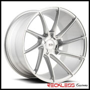 Savini 20 Bm15 Silver Concave Directional Wheels Rim Fits Ford Mustang Gt Gt500